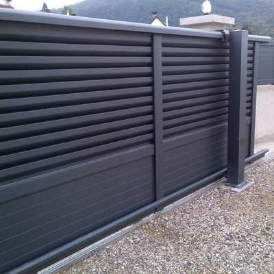 Portail cloture for Portail acier galvanise ou aluminium
