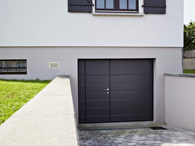 Porte de garage basculante - Montage porte de garage basculante ...