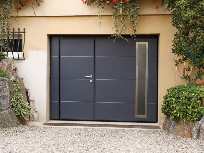 Porte de garage basculante - Porte de garage 5 metres ...