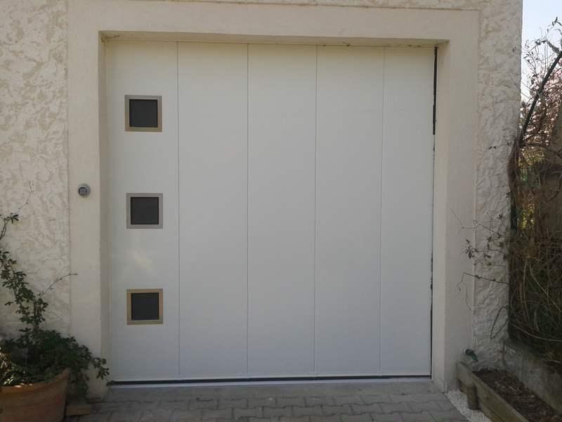 Porte de garage lat rale for Flo fermeture porte garage