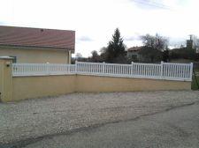 Cloture PVC à Champier