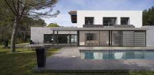 Véranda extension d'habitation - vue extérieure