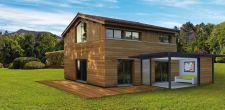 Véranda extension d'habitation - vue globale