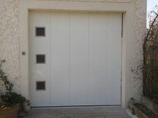 Porte de garage latérale à grenoble